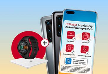 Sommer-Kampagne mit gratis Geräten zu Huawei Smartphones