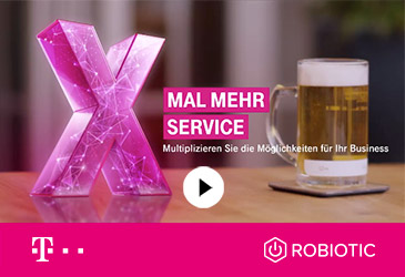 TK-World Joint Venture ROBIOTIC ist Teil der Telekom #Neustart Kampagne