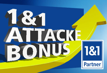 1&1 Bonus Attacke