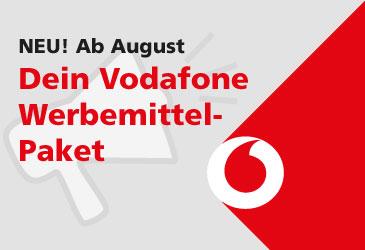 Vodafone Werbemittelpaket von TK-World