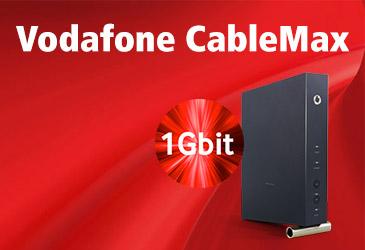 Wieder da: Vodafone Cable Max mit 1000 MBit/s für dauerhaft 39,99 €/Monat