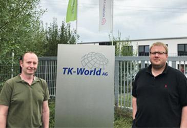 Doppelte Verstärkung im TK-World Vertriebs-Team