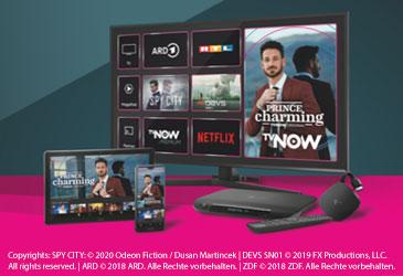 Neues Telekom MagentaTV Portfolio mit mehr Leistung und Flexibilität