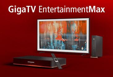 55 Zoll Samsung TV zum Vodaofne Red Internet & Phone Cable mit GigaTV
