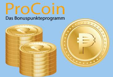 Sammeln Sie TK-World ProCoins für Ihre erfolgreiche Vermarktung
