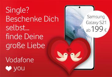 Vodafone Single Angebot: Samsung Galaxy S21 im Red M
