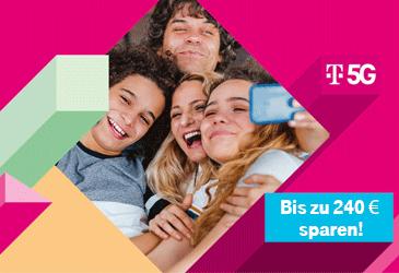 Bis zu 240 € sparen mit der Telekom Family Card