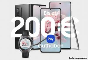 Samsung Happy Payday: Bis zu 200 € Guthaben für Ihre Kunden
