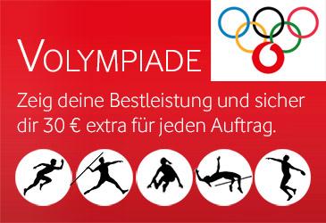 TK-World VOLYMPIADE: 30 € extra für jeden Auftrag!