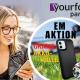 Für Ihre Kunden: iPhone 12 im yourfone LTE-Tarif mit kostenloser Akku-Handyhülle