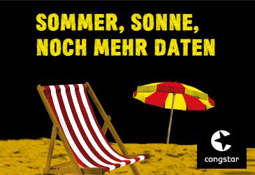 congstar Sommeraktion: Sommer, Sonne und Daten für Ihre Kunden