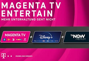 Neu: Telekom MagentaTV Entertain mit Disney+